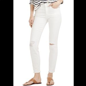 """J crew """"lookout"""" high rise skinny crop"""
